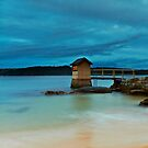 The Shed - Camp Cove NSW by Mark  Lucey