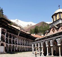 Rila Monastery by Milena Ilieva
