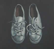 used white shoes by Karl Seitinger