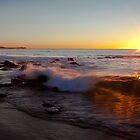 Nobbys at Sunrise by Katherine Williams