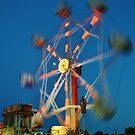 Ferris Wheel - Lindfield Fun Fair #2 by Matthew Floyd