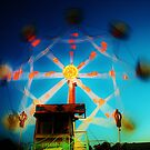 Ferris Wheel - Lindfield Fun Fair #12 by Matthew Floyd