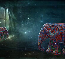 There's an Elephant in the Room by © Kira Bodensted