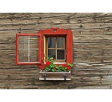 Small But Beautiful Window Photographic Print
