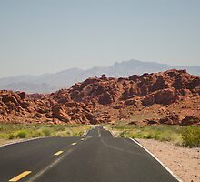 Valley of fire state park by Sanne Hoekstra