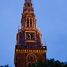 Dutch Clock Tower by phil decocco