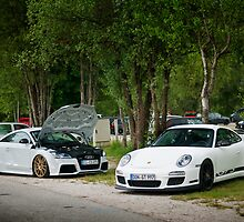 TT RS vs Porsche GT3 by Ian Chan Icypix