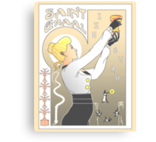 Le Saint Graal Canvas Print