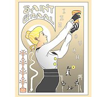 Le Saint Graal Photographic Print