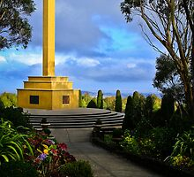 Mt. Macedon Memorial Cross by Stephen Ruane