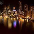 Brisbane Skyline by lu138
