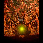 Flame Watcher by Adam  Graham