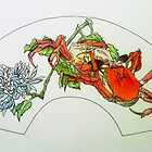 Oriental Crabs by Kassey Ankers
