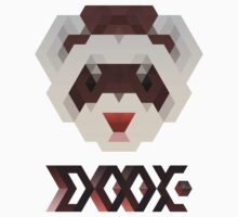 Dook (Fierce Ferret with matching text) by vassil