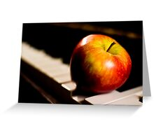 Music Is Fruitful Greeting Card
