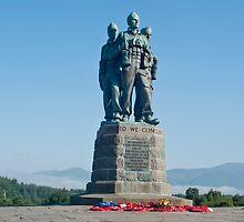 Commando memorial by Sam Smith