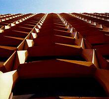 Belgian Apartment Blocks by Karl Horton