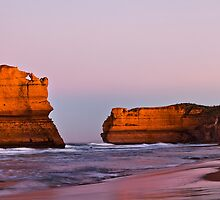 Violet Crumble - Gibson Steps 12 Apostles Victoria by Graeme Buckland