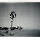 Windmill, dust bowl by Melissa Drummond