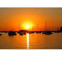 Ibiza Sunset V Photographic Print