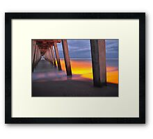 Venice Pier, As Is Framed Print