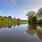 River Severn at Upton on Severn, Worcestershire, UK by Nick  Gill