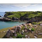 St Govans Head, Pembrokeshire, Wales by Nick  Gill
