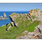 Church Rock, Broadhaven South, Pembrokeshire, Wales by Nick  Gill