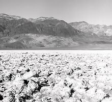 Devil's Golf Course - Death Valley by Harry Snowden