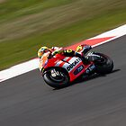 Valentino Rossi Silverstone 2011  by Robert Wright