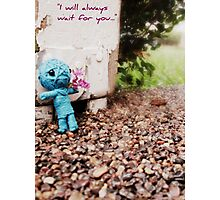 I Will Always Wait For You Photographic Print