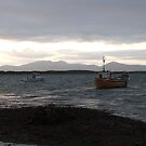 """Boat at rest"" Clew Bay,,Co, Mayo,Ireland by Pat Duggan"