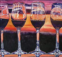 Wine glass-scape by cszuger