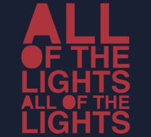 All Of The Lights Kids Clothes