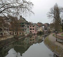 Strasbourg Canal by Danika & Scott Bennett-McLeish