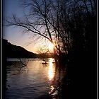 Sundown River by DianaMatisz