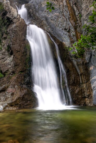 Fish Canyon Falls by Eddie Yerkish
