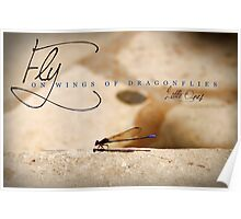 Fly On Wings of Dragonflies, Little Ones Poster