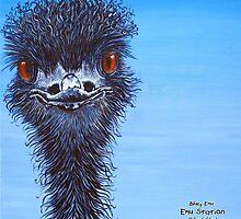 Blue Emu by Deborah Lloyd