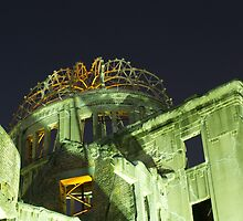 Hiroshima Peace Dome #5 by axemangraphics
