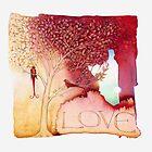 Lovebirds 1 by Helen Lush
