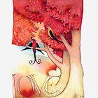 Lovebirds 3 by Helen Lush