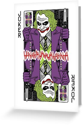 Joker playing card by MrWhaite