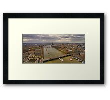 The Thames & London Panorama Framed Print