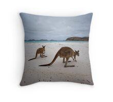Lucky Bay - Cape LeGrande - West Australia Throw Pillow