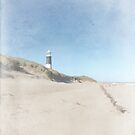Spurn Point Lighthouse | Texture by Sarah Couzens