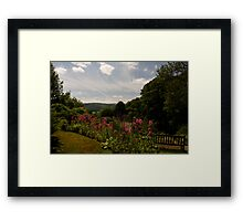 Selworthy Rest and Tranquility, Exmoor Framed Print