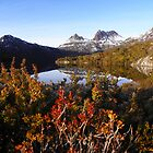 Cradle Mountain in the morning by Paul Campbell  Photography