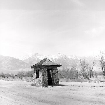 Guard Post - Manzanar by Harry Snowden