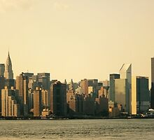 Midtown New York City Skyline Panorama by Vivienne Gucwa